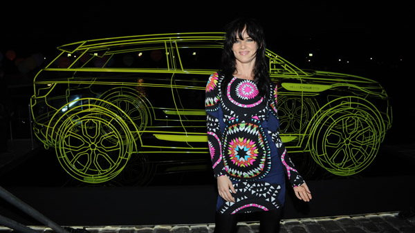 2010 Paris Auto Show: Juliette Lewis at the Range Rover Evoque event
