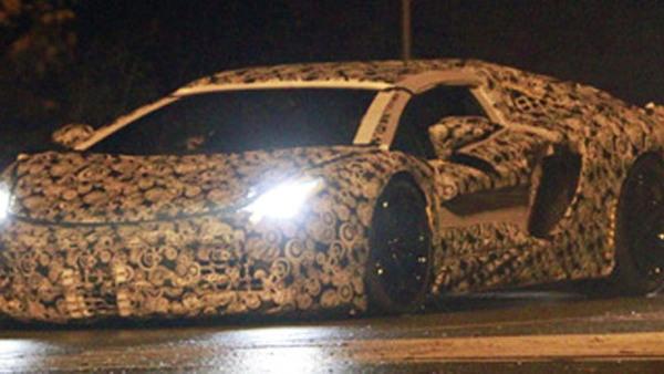 2012 Lamborghini Jota/Aventador spy shots