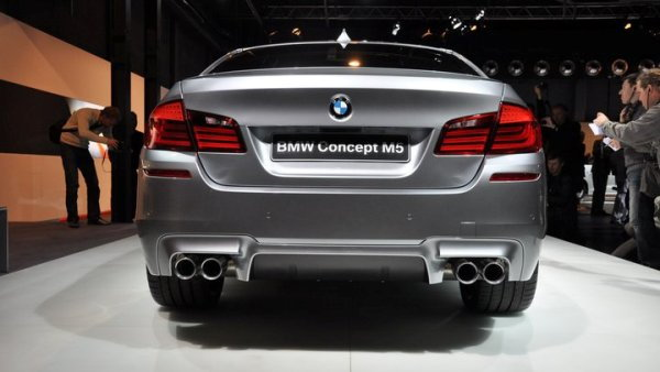 BMW Concept M5 leaked photos