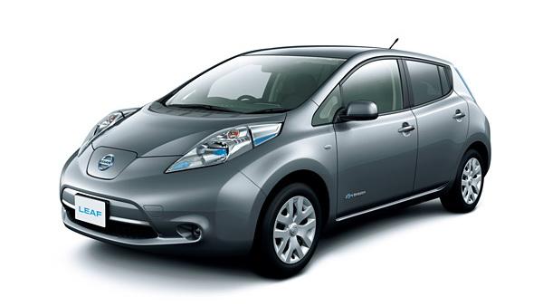 2013 Nissan Leaf S (Japanese trim)