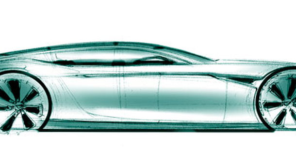 Aston Martin Rapide Development Sketch