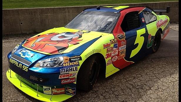2007 #5 Kellogg's NASCAR Car of Tomorrow for auction