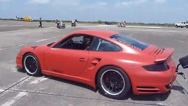 EVOMS EVT1500 Porsche 911 TT at the Texas Mile