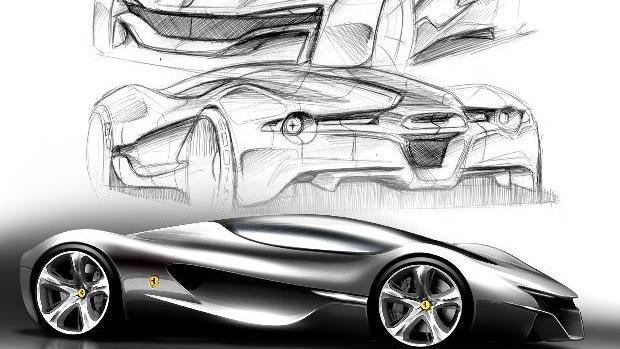 Ferrari World Design Contest - IED's Xezri concept