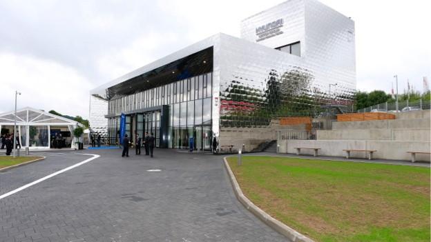 Hyundai's European Test Centre at the Nürburgring