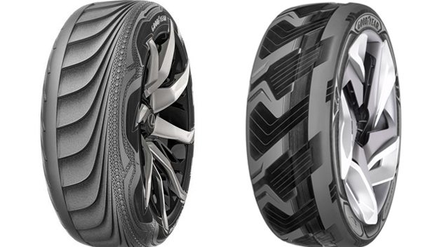 Goodyear concept tires