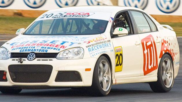 VW Jetta TDI Cup Race Car