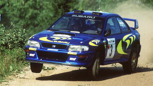 1997 Subaru Impreza WRC car