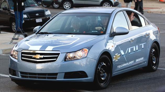 2011 Chevrolet Volt test mule