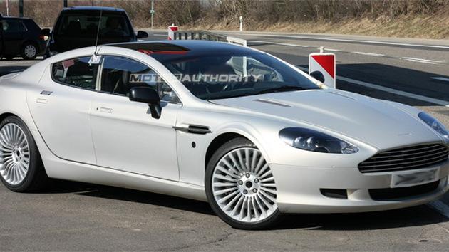 Spy Shots Undisguised Aston Martin Rapide