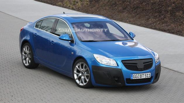 2010 Opel Insignia OPC spy shots