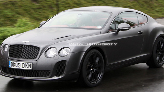 2010 Bentley Continental Supersports production model