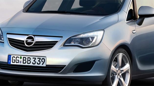 2010 Opel Meriva MPV preview rendering
