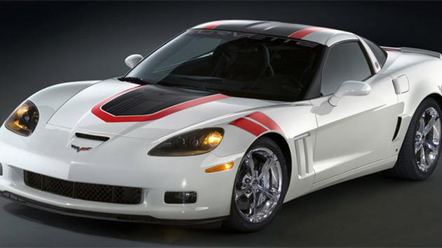 2010 Chevrolet Corvette Grand Sport museum raffle