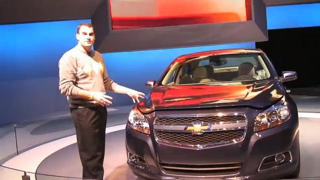 2013 Chevrolet Malibu Eco at New York Auto Show with High Gear Media's Joel Feder
