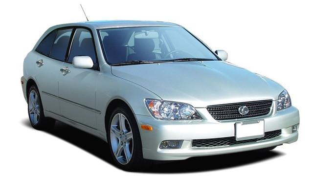 2005 Lexus IS 300 5dr SportCross Wagon Auto Angular Front Exterior View