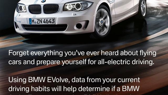 BMW EVolve iPhone App