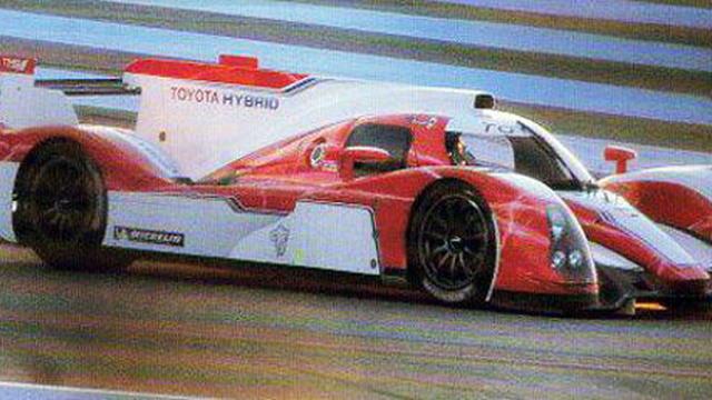 2012 Toyota LMP1 hybrid Le Mans prototype - Photo: AUTOhebdo