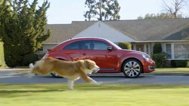 Screencap from The Dog Strikes Back Super Bowl XLVI ad