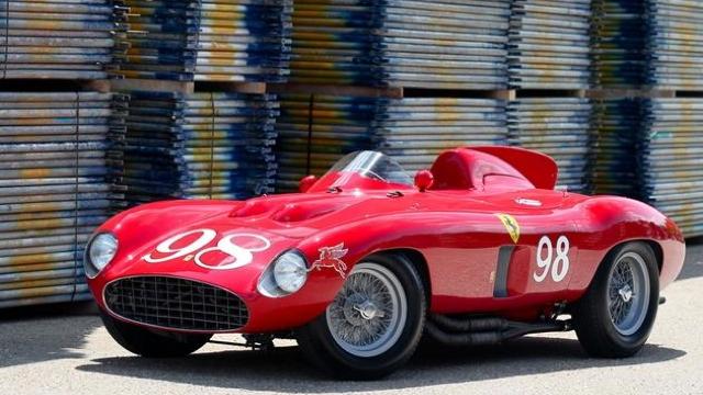 1955 Ferrari 857 Sport - image credit Mathieu Huertault, Gooding & Company