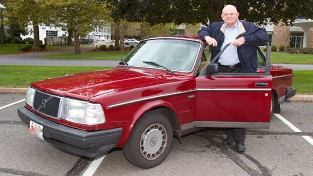 Selden Cooper and his million-mile Volvo 240 - image: Volvo