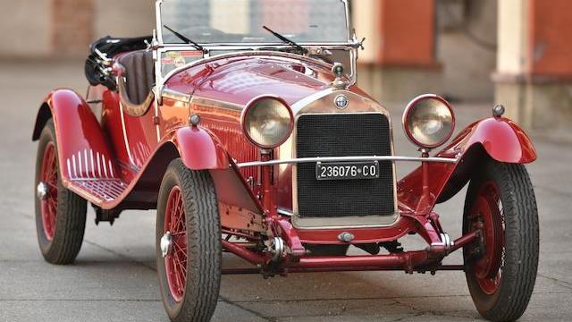 1929 Alfa Romeo 6C 1750 Super Sport Supercharged Spider — Photo via Bonhams