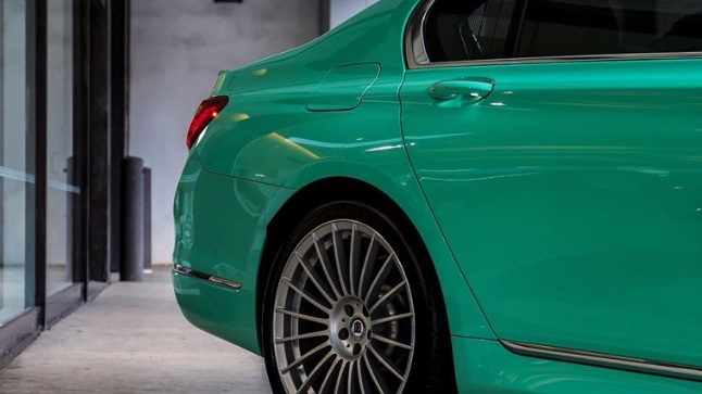 Alpina B7 in Mint Green