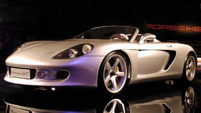 Porsche Carrera GT, 2001 Los Angeles Auto Show