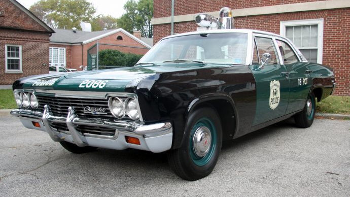 NYPD shows off its vintage patrol cars - photos by Benjamin Preston