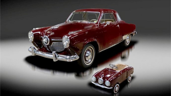 1951 Studebaker Champion Regal Starlight coupe