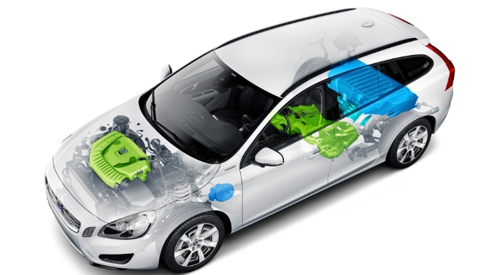 Volvo V60 plug-in hybrid safety