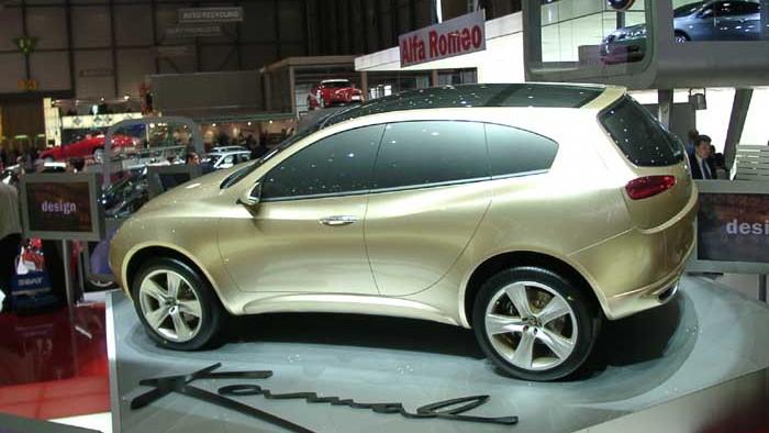 2003 Alfa Romeo Kamal concept, Geneva Auto Show