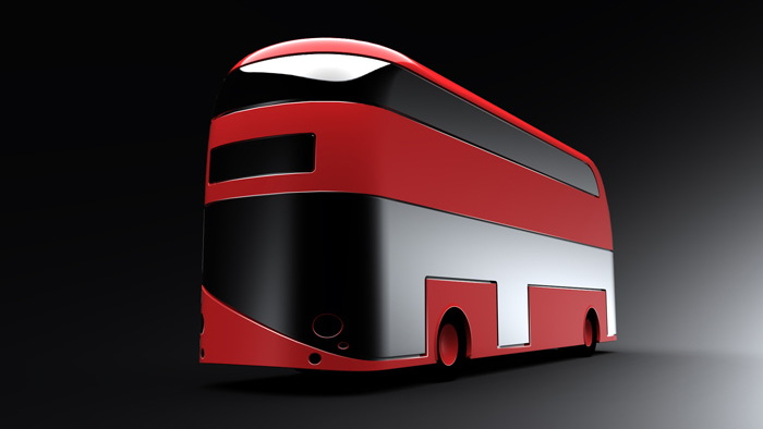 New Bus for London rendered images