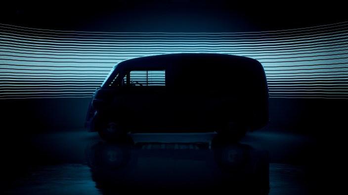 Morris JE commercial van