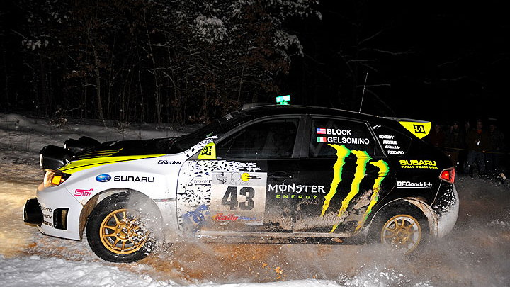 Subaru at the 2009 100 Acre Woods Rally