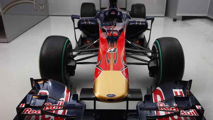 Scuderia Toro Rosso STR5 2010 F1 car