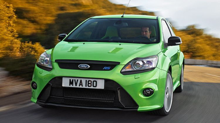2010 Ford Focus RS (European edition)