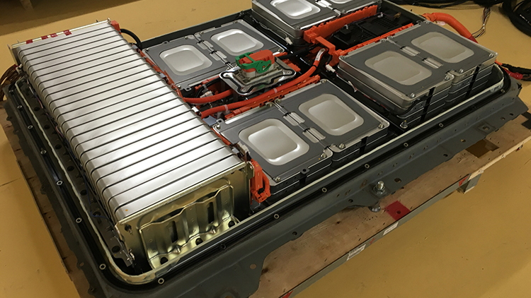 Nissan electric-car battery