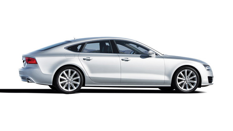 2011 Audi A7 leaked images