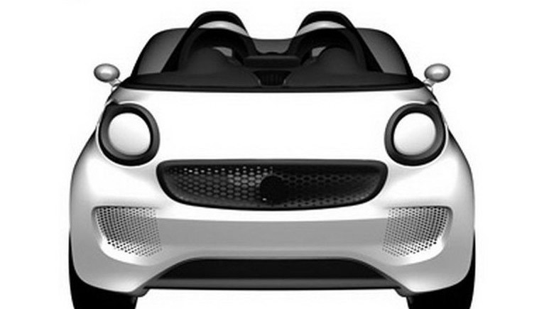 Smart ForTwo roadster concept