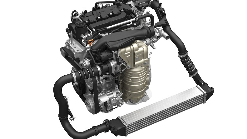 Honda direct-injected and turbocharged 1.5-liter four-cylinder VTEC engine