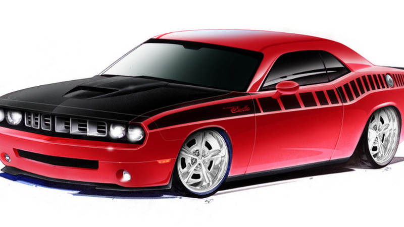 mr norm dodge challenger sema 001