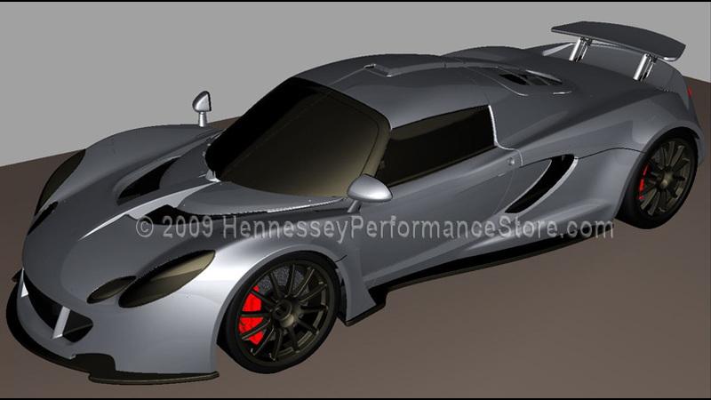 Hennessey Performance Venom GT rendering