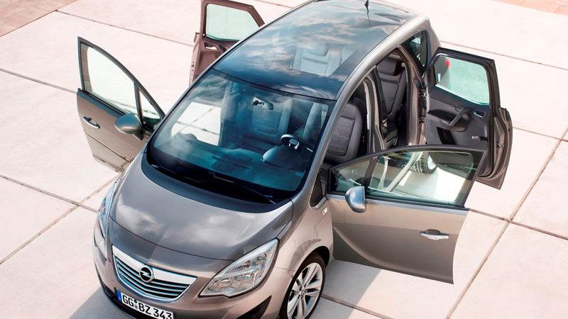 2010 Opel Meriva leak