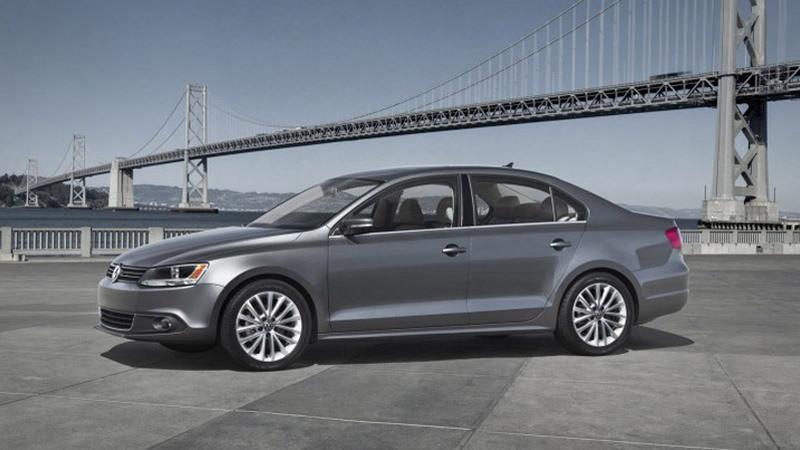 2011 Volkswagen Jetta leak