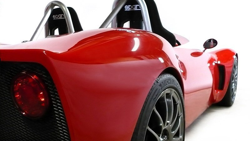 Spartan V Ducati-powered track car