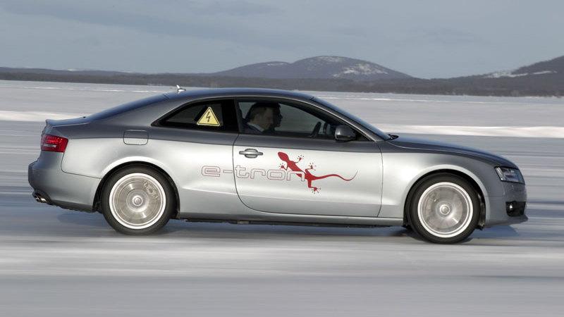 2011 Audi A5 e-tron quattro hybrid prototype