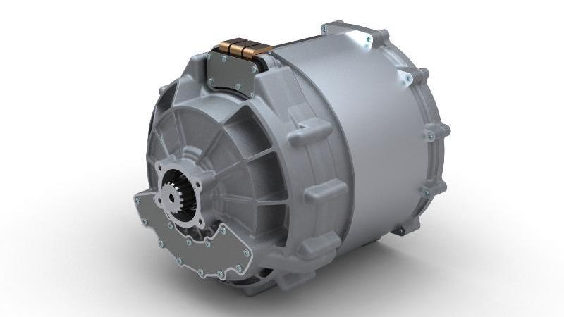 Zytek's 70kW electric motor.  Image: Morgan Motor Company
