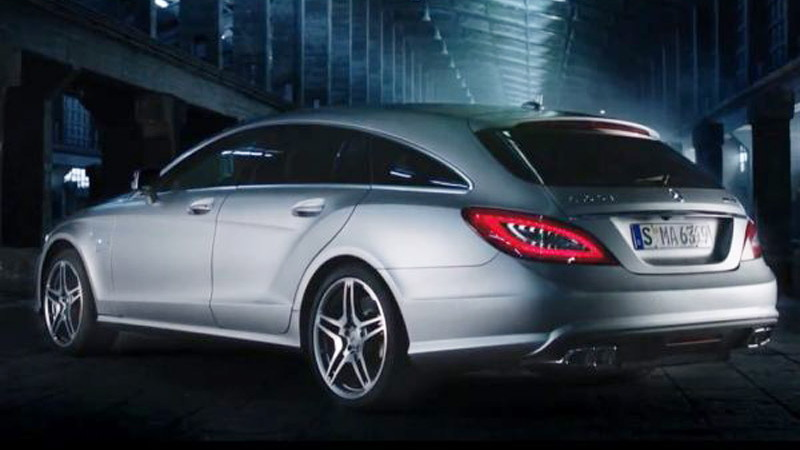 2013 Mercedes-Benz CLS63 AMG Shooting Brake leaked