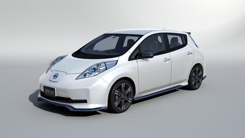 Nissan Leaf NISMO aero package